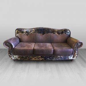 cowhide western furniture living room sofa emma style