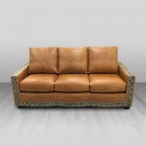 cowhide western furniture living room sofa jaxon style
