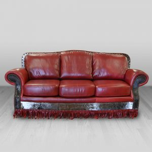 cowhide western furniture living room sofa san antonio style