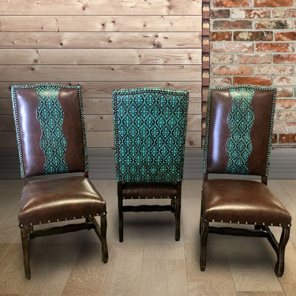 cowhide western furniture dining options sonora chairs
