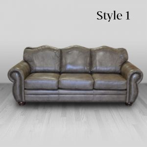 cowhide western furniture living room sofa amarillo style 1