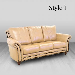 cowhide western furniture living room sofa highlander style 1