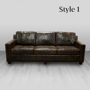 cowhide western furniture living room sofa martin style 1