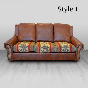 cowhide western furniture living room sofa rodeo style 1