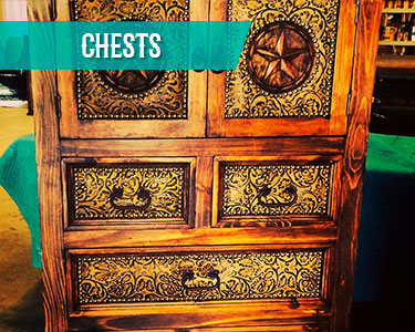 cowhide western furniture chests category