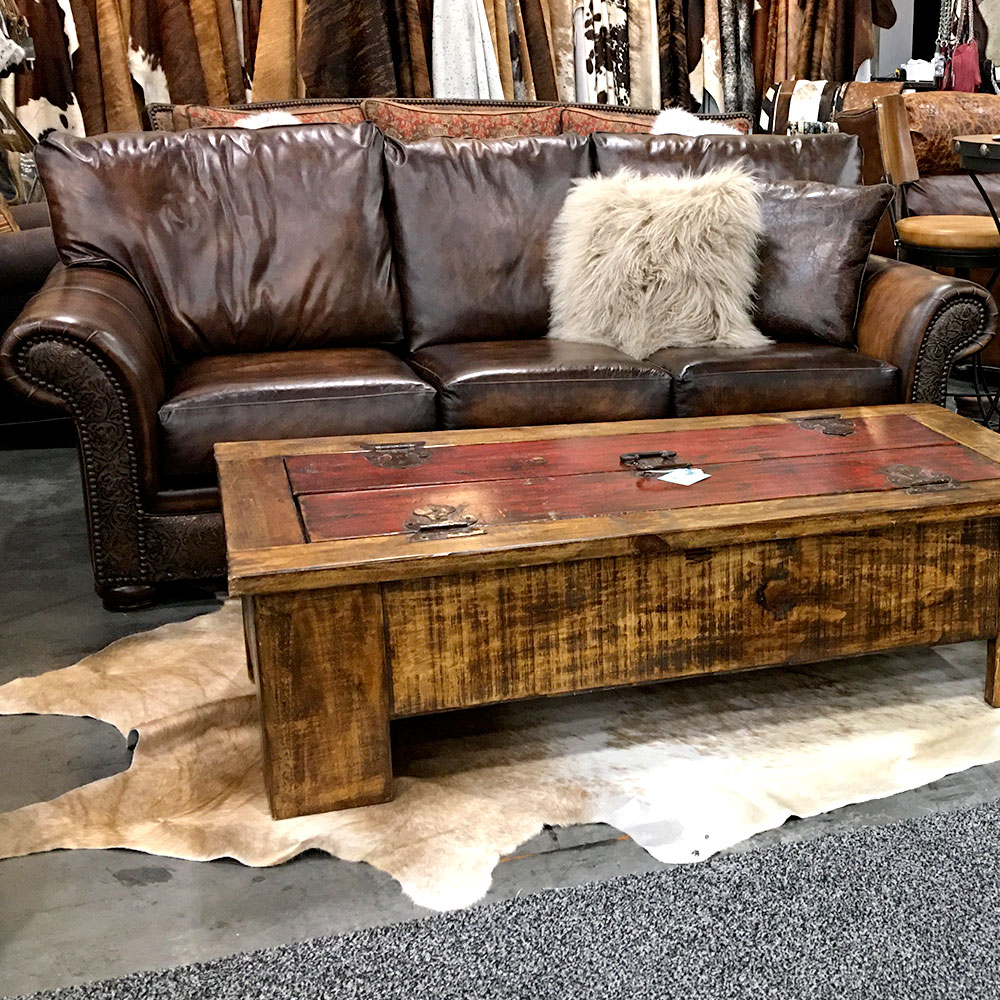 Cowhide Western Furniture sofa for leather care